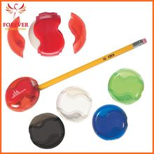 New Design Promotional Custom Plastic Handy Pencil Sharpener With Eraser