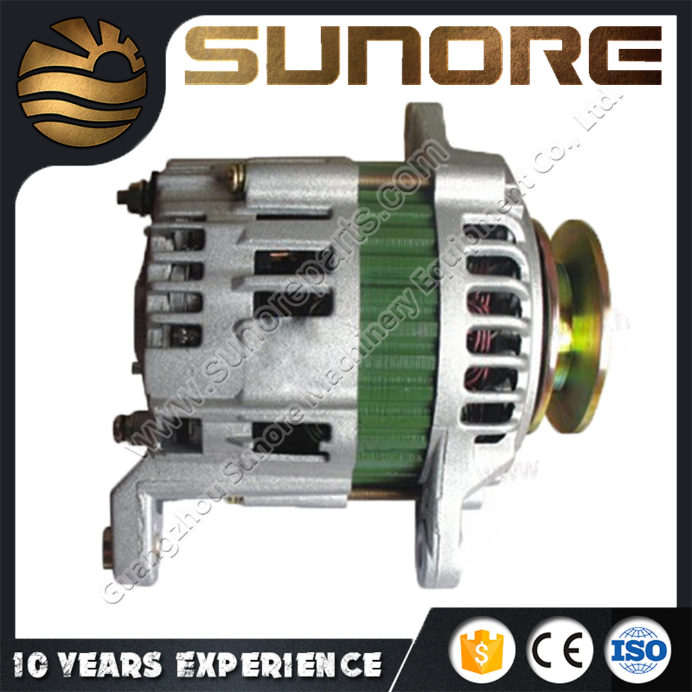 OEM New Excavator Parts Alternator 12V 50A 99723442 8972283180, 4JB1 Diesel Motor Engine Alternator DH55