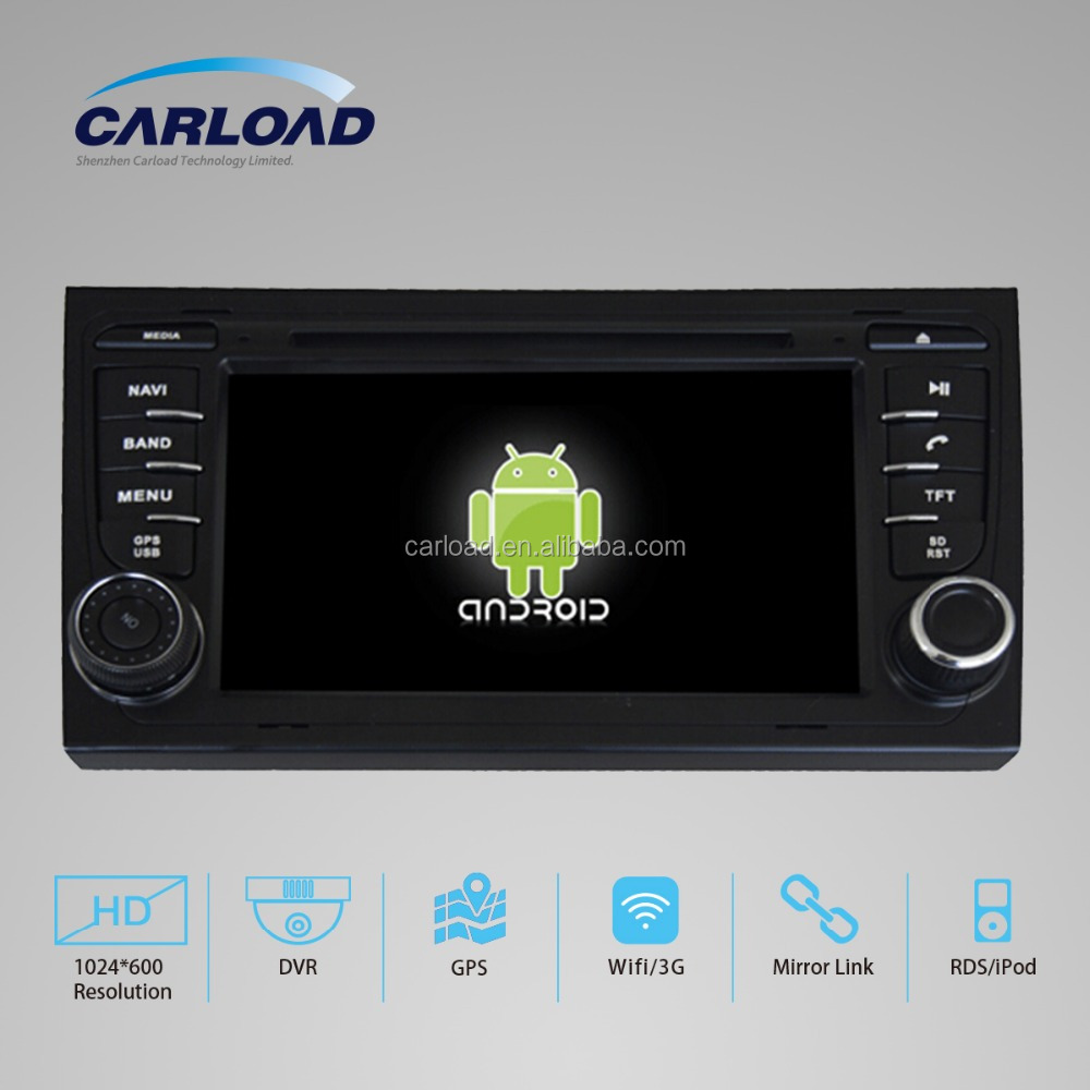 For Audi A4 Car DVD player Android 4.4 capacitive touch screen GPS navigation With