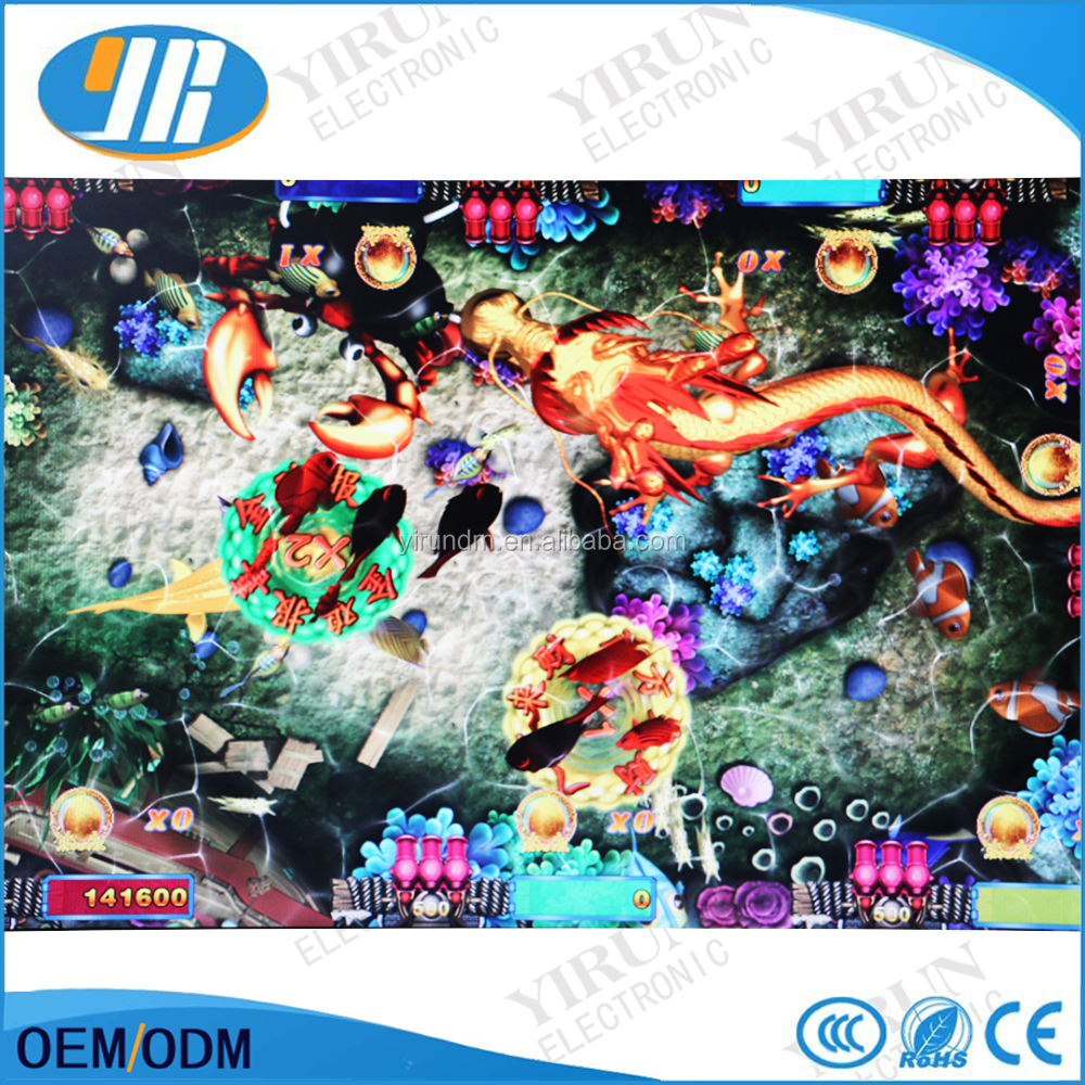 High Win Rate HD Fishing game PCB shooting fish games table gambling machine