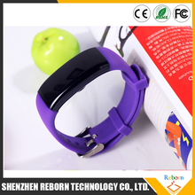 OLED waterproof swimming smart wrist watch bracelet with heart rate monitor