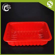 Fish Meat Storage Use Food Grade Plastic Frozen Food Box Packaging