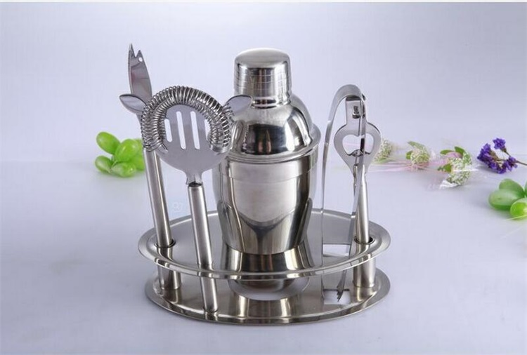 Stainless steel cocktail shaker, 2 pieces wine shaker, bar tools
