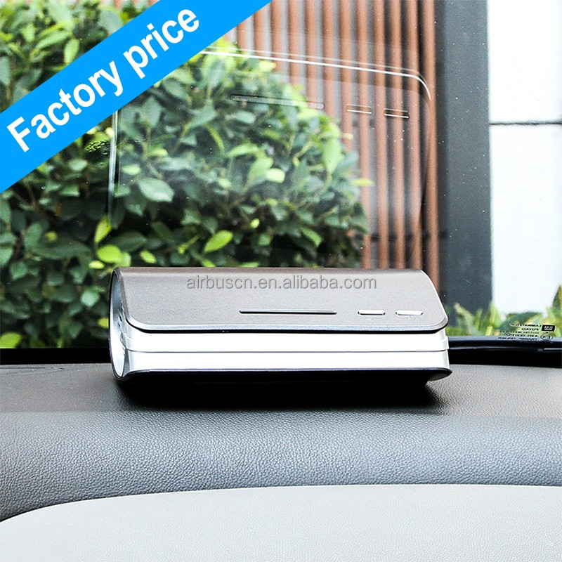 Airbus portable nano anion air purifier for car wholesale ionic hepa Smart portable air conditioner