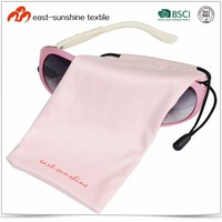 Wuxi One Color Screen Printed Microfibre Pouch for Sunglasses