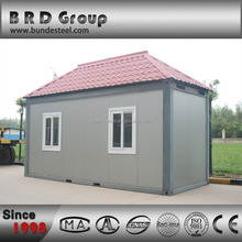 Extensible prefabricated container house shops