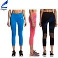 Girls Workout Running Leggings Withs Diamond Pieces Capris