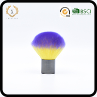 DSX Purple gradient Wire drawing kabuki brush