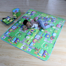 lovely baby floor play mat color printed baby play mat
