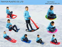New products HDPE snow sledge