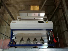 China anhui VSEE color sorter with CE Certificate RGB pulse color Sorter machine