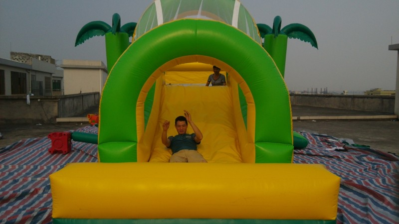 GMIF5211 customized inflatable castle slide manufacturer in guangzhou