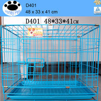 Export to USA and Europe top sale quality cheap wire mesh large strong stainless steel dog cage