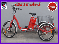 jinhua 3 wheels recumbent trike electric for adult 250w