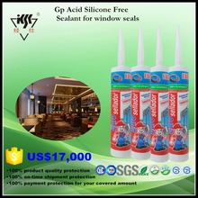 Gp acid Silicone Free Sealant for window seals