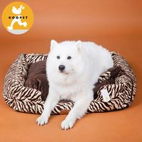 Luxorious fashion sofa fashion dog bed zebra-striped foam pet house