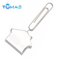 stainless steel metal paper clip folding bookmark