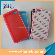 Sublimation TPU Mobile Phone Case for iphone 4/4s,For iphone 4/4s Sublimation TPU Cover Case