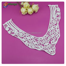 Lace Motif Embroidery lace neckline for wedding dress