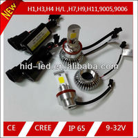 9-32v 1600lm/1800lm cree led headlight kit for kia