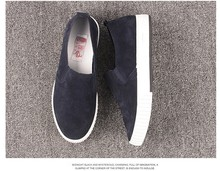 Support OEM ladies blue suede shoes dirndl shoes