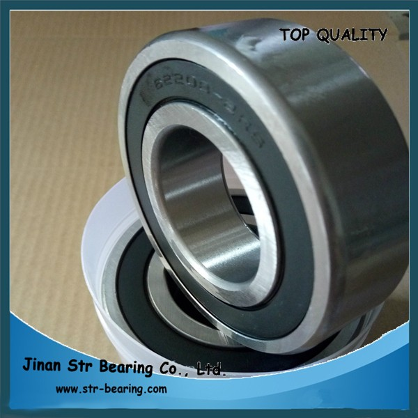 40*80*23 mm widen series ball bearing for Electrical Motor 62208-2rs 62208 bearing