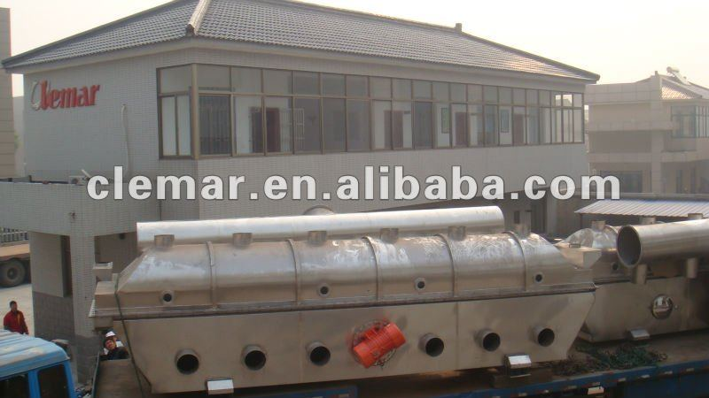 ZLG Vibrating Fluid Dryer for salt/brown coal/sand