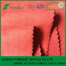 China manufacturer OEM brush suede types of jacket fabric material