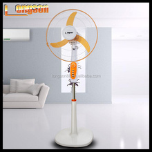 Hi-quality 18 inch round base electronic fan with max air fan motor
