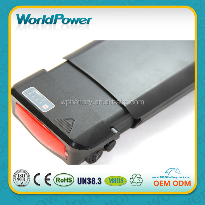 36v 10ah li-ion lithium battery e bike battery pack with protect IC