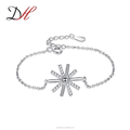 Daihe 925 sterling silver blacelet for ladies