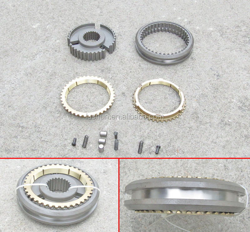 Truck Gearbox Parts TC5-35 Synchronizer gear Synchronizer ring 2rd 3th
