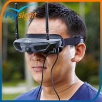 B788 Multi-Ch Diversity Goggles With Front Cam For WLtoys v915 2.4g 4ch Scale Lama RC Helicopter