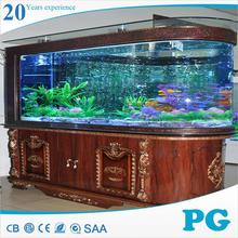 PG wholesale plastic aquarium large acrylic fish tank