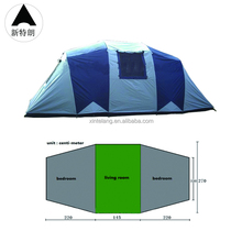 Large waterproof camping tent for outdoor sports