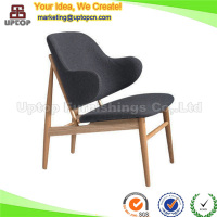 (SP-EC706) Classical hotel lobby Larsen Easy wooden rest chair