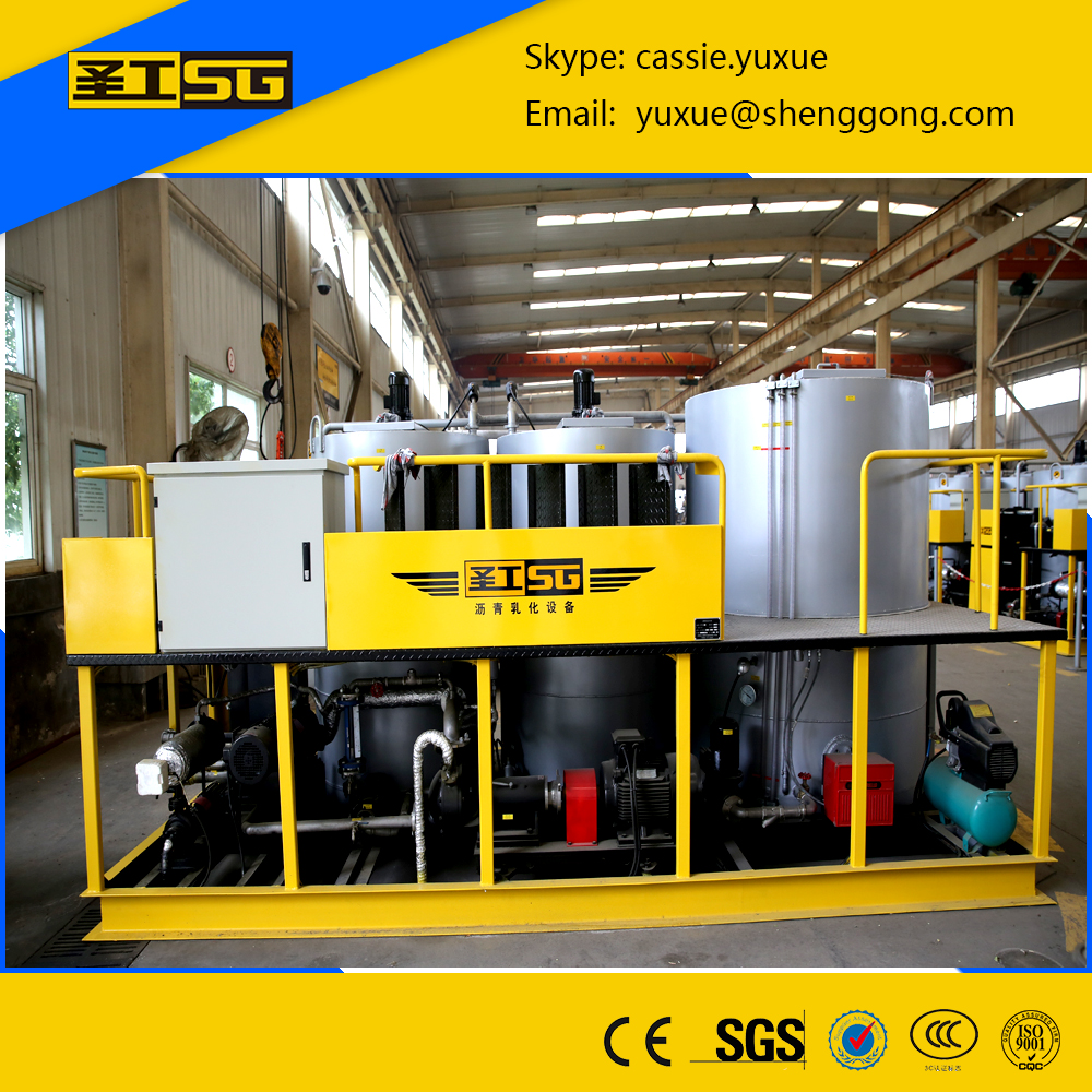 High Quility 6T/H Mobile Emulsion Asphalt /Bitumen Plant/Asphalt Mixing Equipment