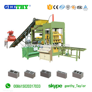 QT6-15 Hot sale & high quality large foam concrete paver machine block making