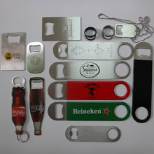 Custom Stainless Steel Beer Bar blade Bottle Opener
