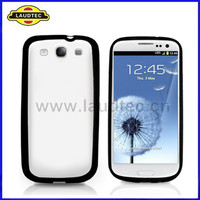 2014 Hot Selling for samsung galaxy s3 i9300 tpu+pc hard case cover