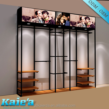 clothes rail/wall mounted clothes rails/hanging rails for clothes