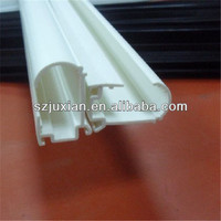 plastic extrusion profile for window/door frame plastic linear rail