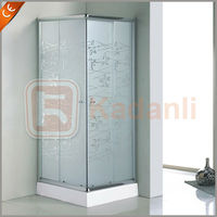Simple shower room,tempered glass shower room