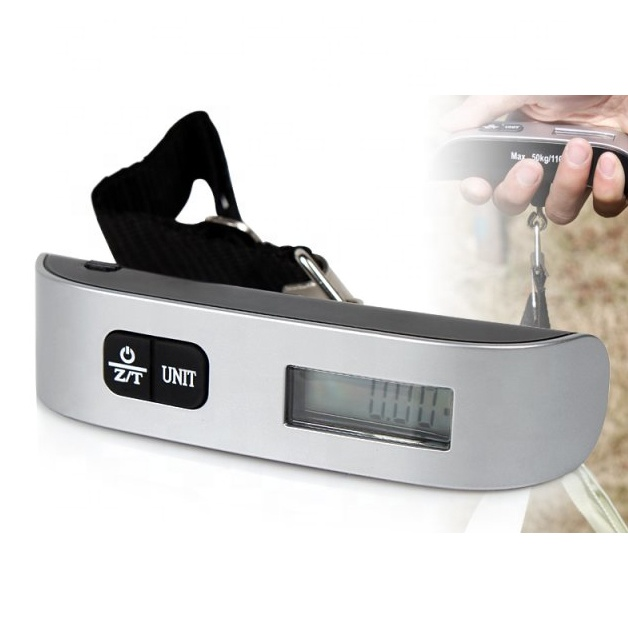 Best selling electronic handheld weigh <strong>scale</strong> travel Portable Digital 50KG/110lb PT-106B