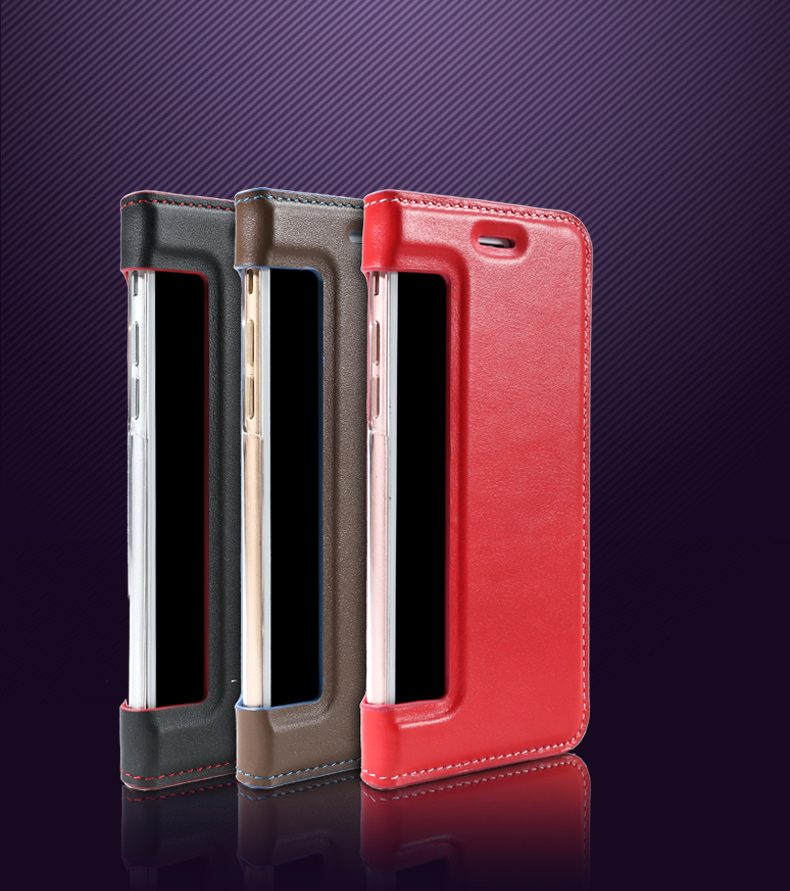 PU Leather Phone Back Case Flip Cover Mobile Shockproof Case for Sony Xperia C5 C6 E5 XZ