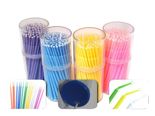 Low price of Dental micro brush applicator