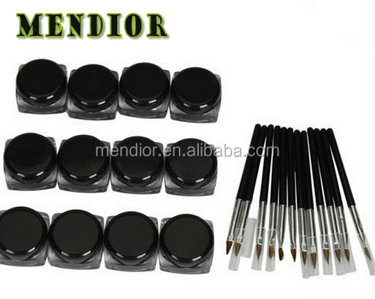 Mendior Private label long lasting gel eyeliner best waterproof eyeliner