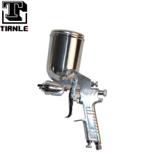Professional W-77 spray gun with durable spray nozzle and needle