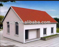 Modern prefab model prefab luxury villa design
