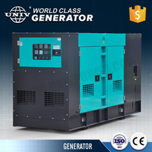 Low Noise 200kw Electric Power Portable Generator 250kva Soundproof Diesel Generator